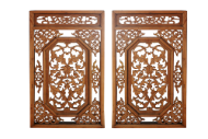 Pair of Carved Windows #2