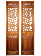 Four Intricately Carved Doors