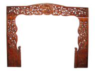 Carved Headboard for Bed