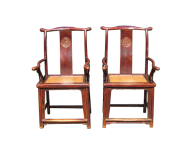 Pair of Officials Hat Chairs